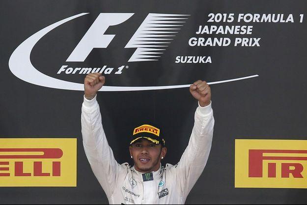 Lewis Hamilton a emporté le Grand Prix de Formule 1 du Japon.