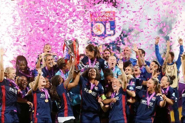 Les Lyonnaises ont remporté un troisième titre consécutif.