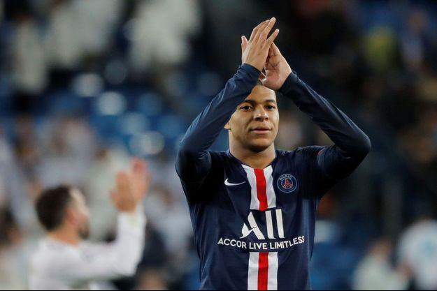 Kylian Mbappé a inscrit le premier but du Paris Saint-Germain.