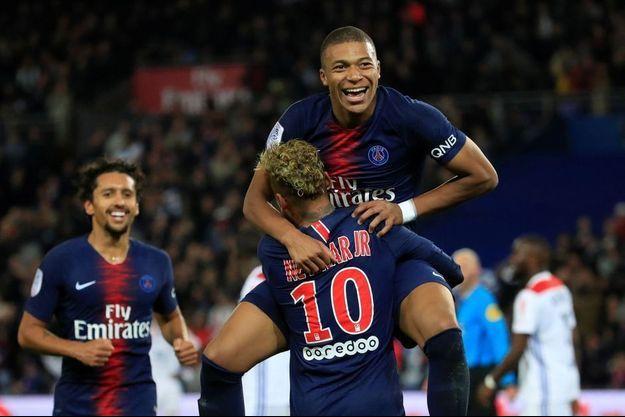 Mbappé, Neymar et Marquinhos, trois atouts majeurs du PSG.