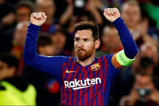 Deux buts, deux passes décisives : Lionel Messi a livré un véritable récital.