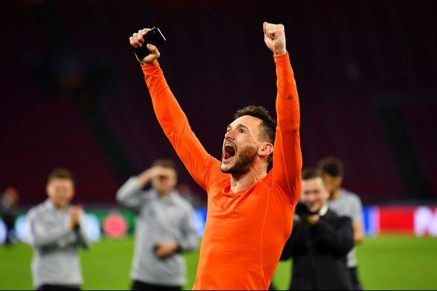 Hugo Lloris a réalisé de nombreux arrêts face à l'Ajax Amsterdam.