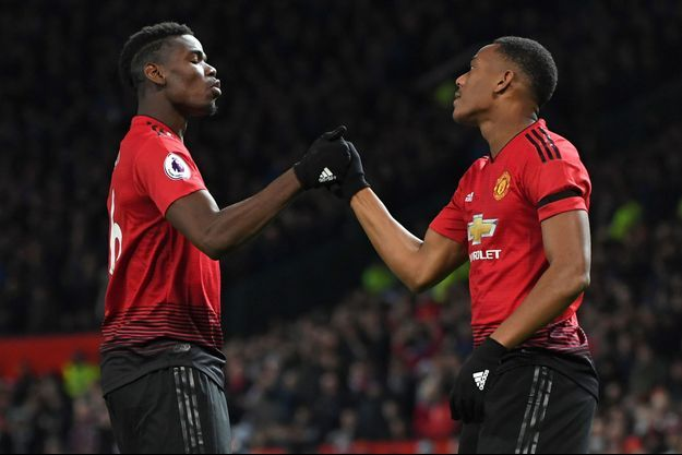 Paul Pogba et Anthony Martial