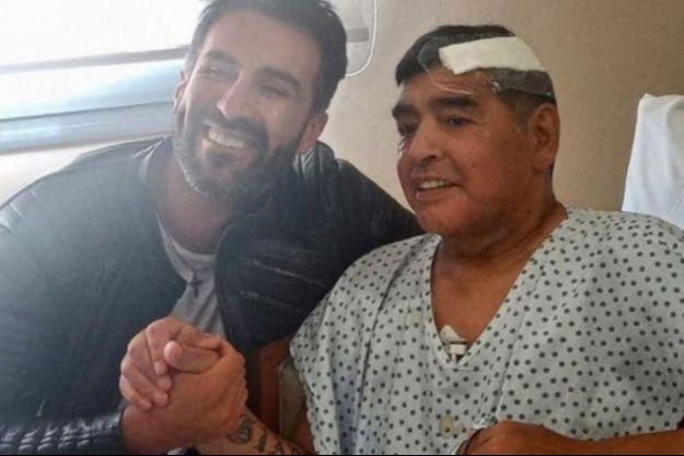 La dernière photo de Diego Maradona vivant.