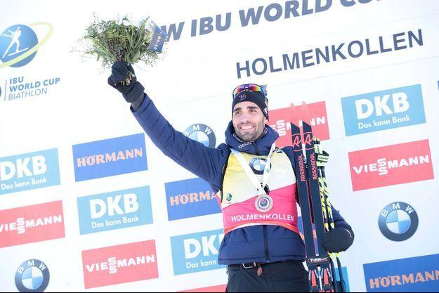 Martin Fourcade a remporté le sprint de Tioumen, en Russie.