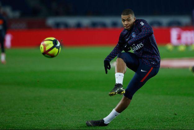 PSG face à Montpellier, le 20 février 2019.