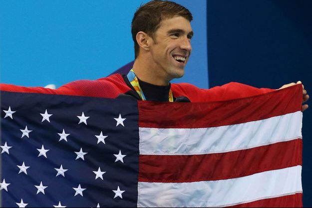 Michael Phelps, le sportif aux 23 médailles d'or olympique.