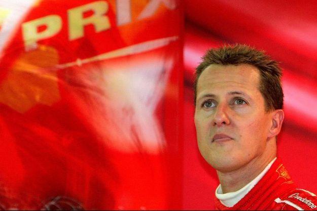 Michael Schumacher, ici en 2004