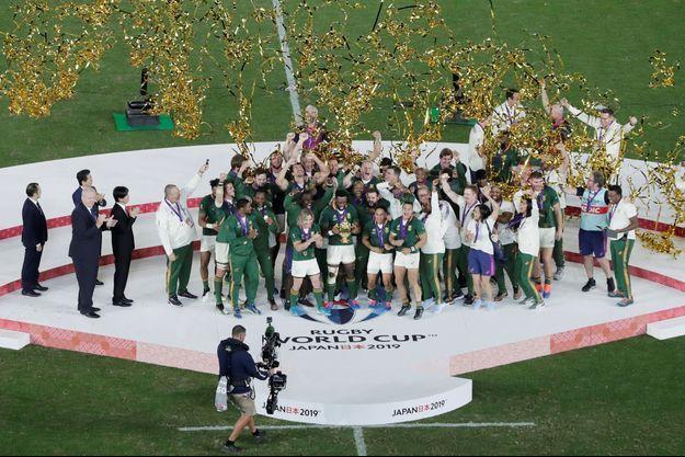 Les Springboks ont remporté la Coupe du monde de rugby.
