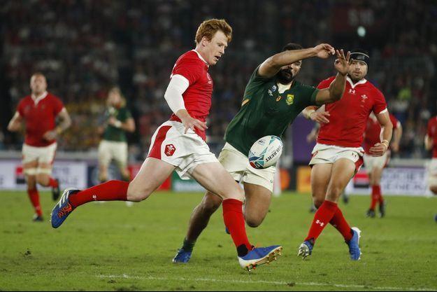 Le match Pays de Galles-Afrique du Sud.
