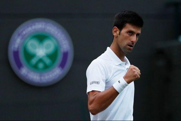 Novak Djokovic est toujours engagé dans le tournoi de Wimbledon.