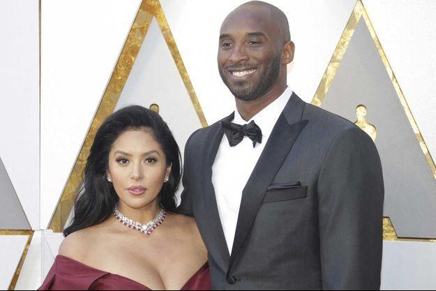 Vanessa et Kobe Bryant, en 2018.