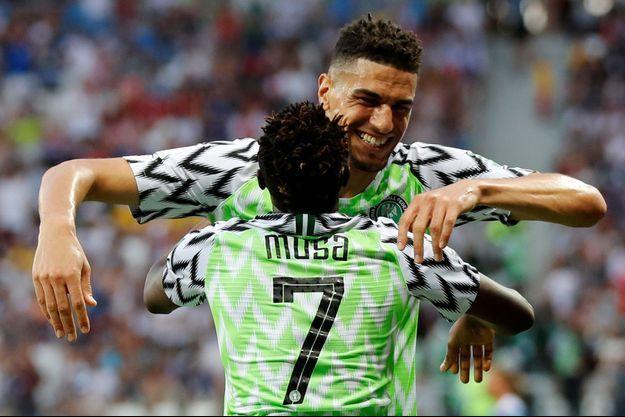 Ahmed Musa a marqué un doublé face à l'Islande.