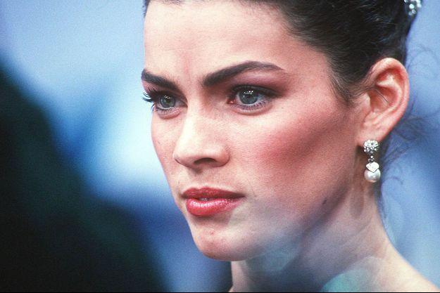 Nancy Kerrigan aux JO de 1994.