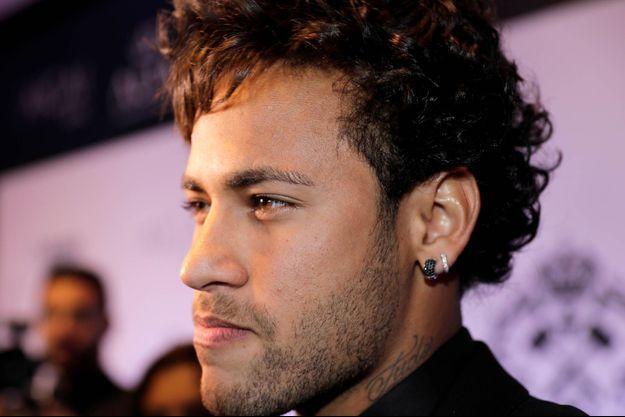 Neymar lors d'une soirée caritative le 23 juin dernier.