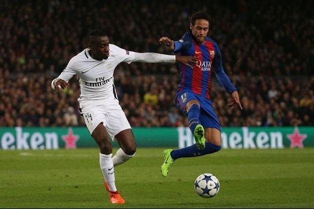 """Neymar avait l'un des artisans de la """"Remontada"""" du FC Barcelone face au PSG de Blaise Matuidi."""