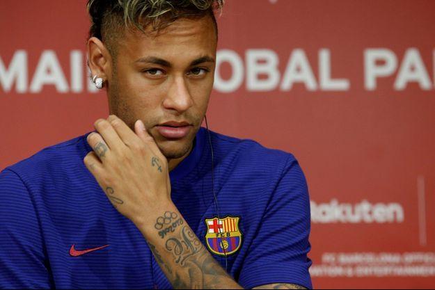 Neymar, toujours plus proche du PSG (photo d'illustration)
