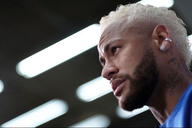 Neymar le 13 juillet au Brésil.