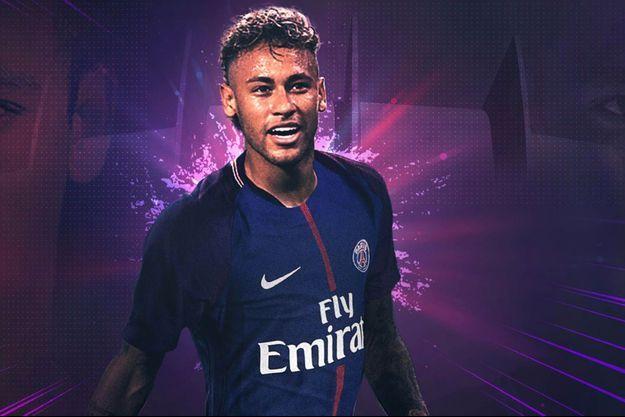 Neymar Jr s'affiche en grand sur le site du PSG