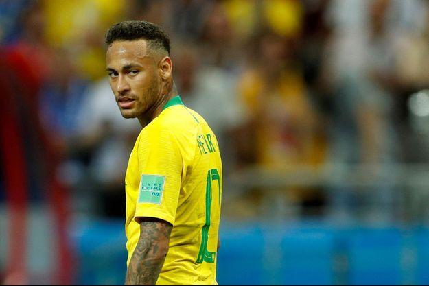 Neymar lors de la Coupe du monde.