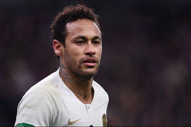 Neymar samedi soir au Stade de France.