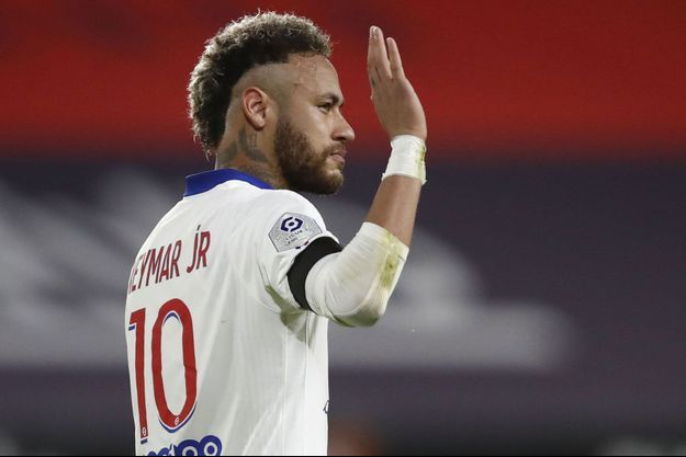 Neymar a été suspendu pour la finale de la Coupe de France.