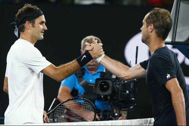 Roger Federer, Richard Gasquet