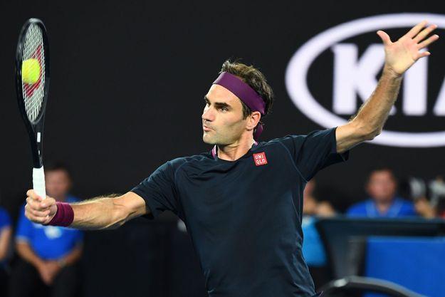 Roger Federer le 30 janvier 2020.