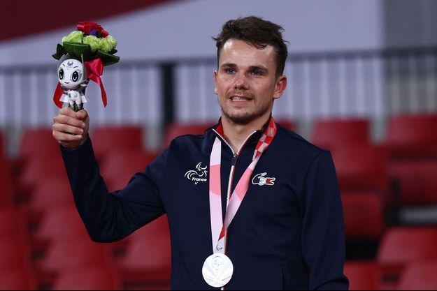 Matéo Bohéas a décroche sa première médaille aux Jeux paralympiques, en tennis de table.