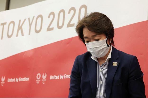 """La présidente de Tokyo-2020, Seiko Hashimoto, a évoqué une décision """"très décevante"""" mais """"inévitable""""."""