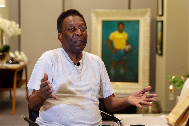 Pelé, en 2019.