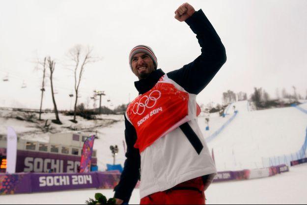 Pierre Vaultier est devenu champion olympique mardi.