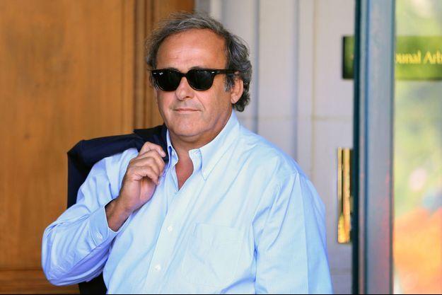 Michel Platini ici à Lausanne, en août 2016.