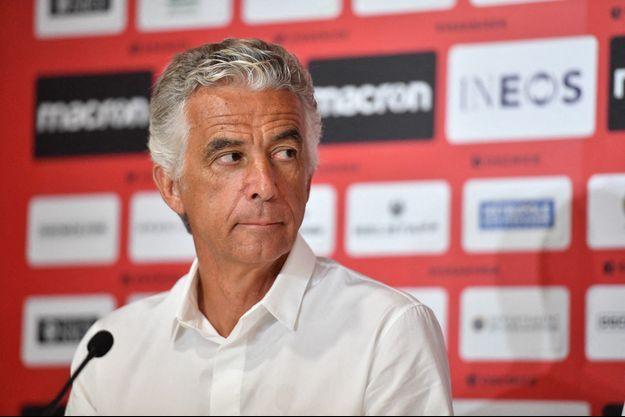 Jean-Pierre Rivère, le président de club niçois qui reçoit la rencontre, a annoncé sa décision en conférence de presse.