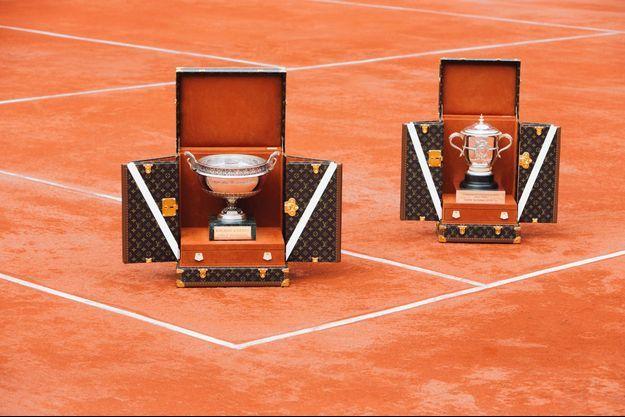 Les malles Vuitton transporteront les trophées de Roland-Garros cette année.