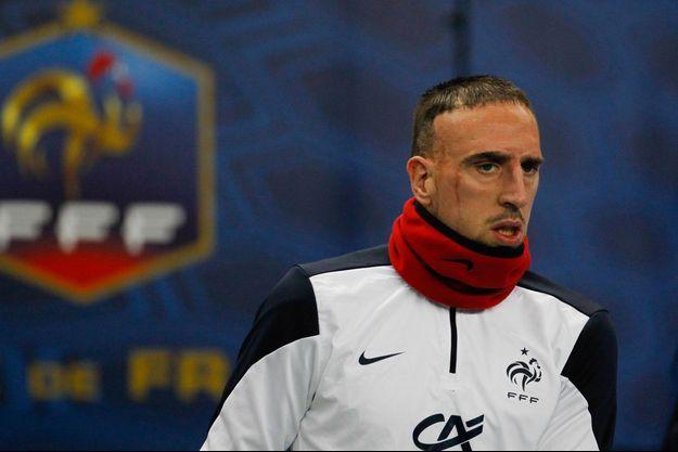 Franck Ribéry ne participera pas à la Coupe du Monde.