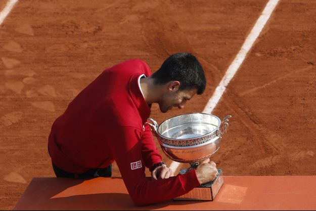 Novak Djokovic a remporté Roland-Garros l'an passé contre Andy Murray.