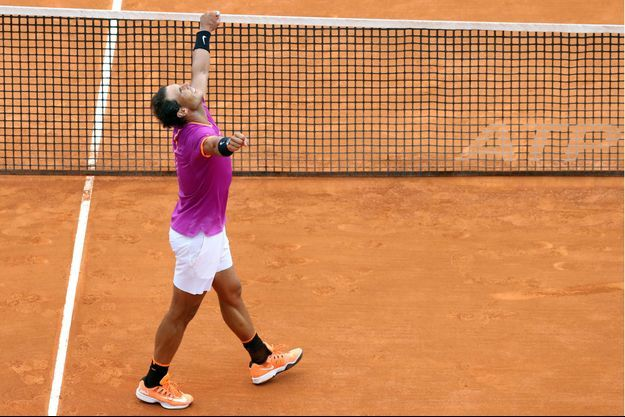 Rafael Nadal a remporté son 10e titre à Monte-Carlo.