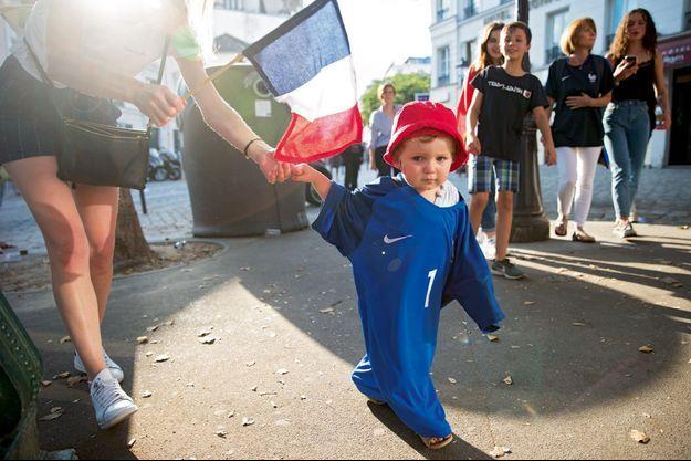 A l'image de ce petit bout'chou, tout la France a vibré le dimanche 15 juillet 2018.