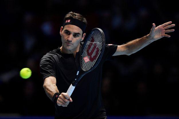 Roger Federer le 23 novembre 2019.
