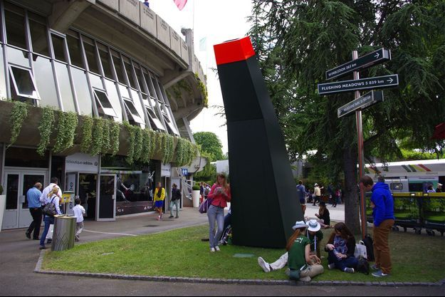 La ruche géante installée à Roland Garros
