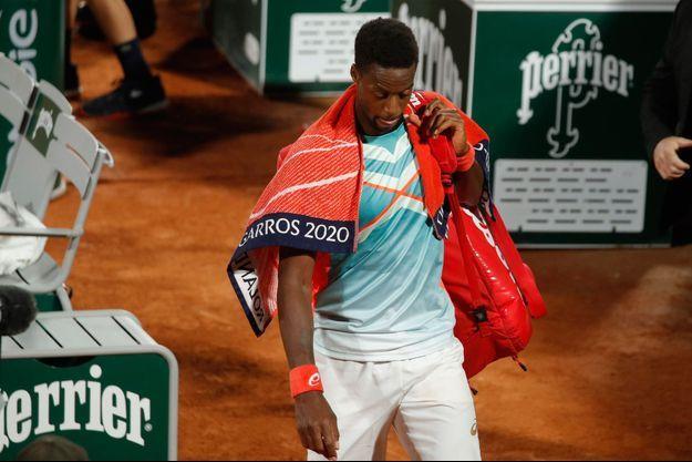 Gaël Monfils a été éliminé dès le premier tour de Roland-Garros.