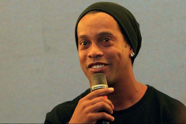 Ronaldinho, en juillet 2017
