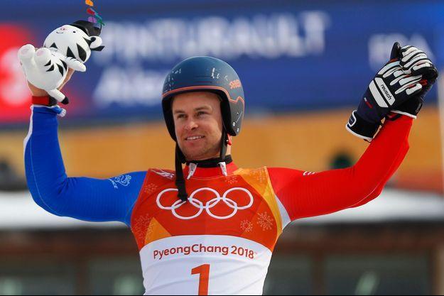 Alexis Pinturault a remporté sa deuxième médaille des Jeux.