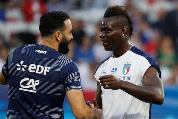 Adil Rami et Mario Balotelli seront équipiers.
