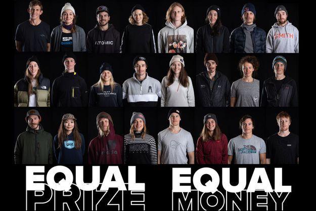 Le Freeride World Tour a annoncé cette semaine que les hommes et les femmes prenant part à cette compétition de ski et de snowboard toucheraient les mêmes sommes en cas de victoire.
