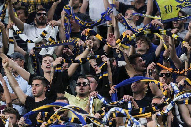 Supporters d'Hellas Vérone en septembre 2019.