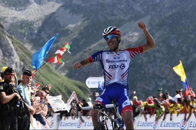 Thibaut Pinot a remporté la 14e étape du Tour de France.