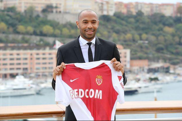 Thierry Henry est devenu l'entraîneur de l'AS Monaco.