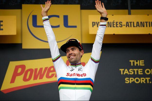 Tom Dumoulin lors du Tour de France 2018.